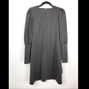Donna Morgan long sleeve striped dress